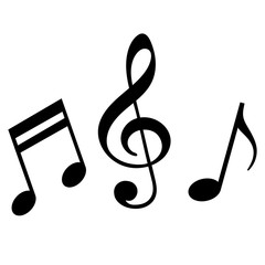 Signs of a musical notation