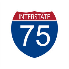 Interstate highway road