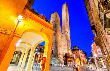 Fotomurales - Bologna, Emilia-Romagna - Italy - Due Torri
