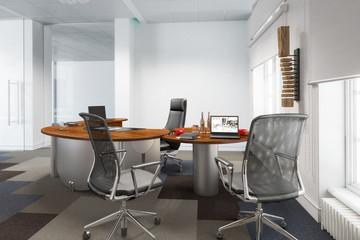 Modernes Chefzimmer (Teilentwurf)