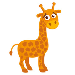 Wild animals. Giraffe