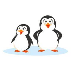 Wild animals. Penguins Wildlife Vector
