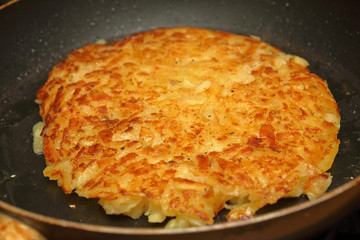 Swiss hash browns