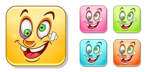 Sick Emoticons collection