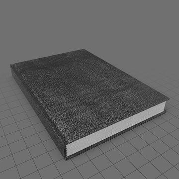 Small bound sketchbook