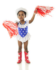 Shaking Pom-Poms for the USA