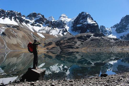 Laguna Chiarkhota - Nevado Tuni Condoriri (Bolivia)