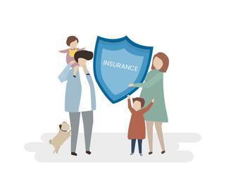Illustration of insurance