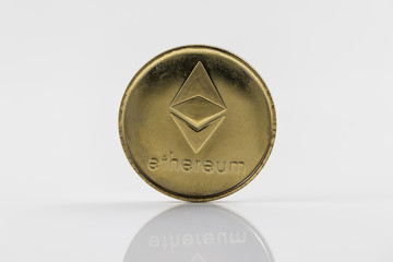 Gold Etherium Token Coin