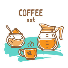 coffee trace color