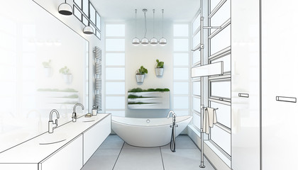 Contemporary Bathroom Adaptation (project)