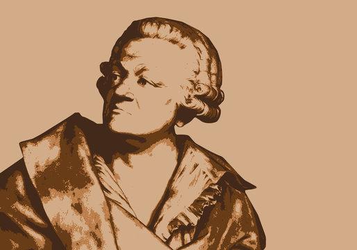 Mirabeau - révolution - portrait - écrivain - révolutionnaire - personnage historique