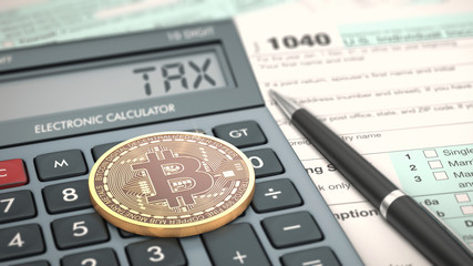 concept of cryptocurrency and taxes