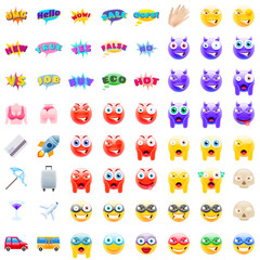 Ultimate Set of Modern Emojis