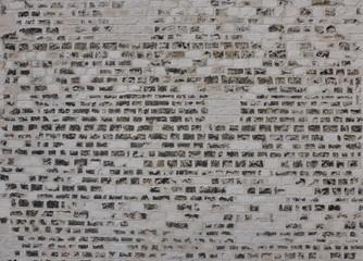 Mur de briques et mortier