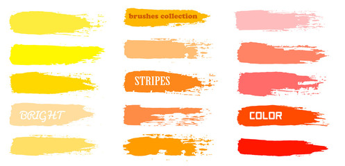 blue brush strokes - backdrop for your text