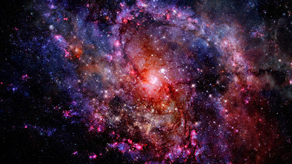 Stars of a planet and galaxy. Elements of this image furnished by NASA.
