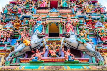 Canvas Prints Kuala Lumpur Sri Maha Mariamman Temple Dhevasthanam, Hindu temple in Chinatown. Kuala Lumpur, Malaysia.