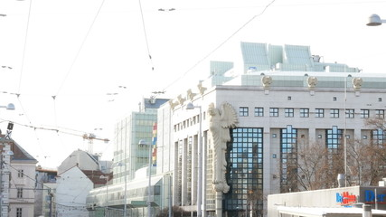 University building in Vienna, Austria