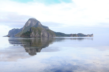 Beautiful El Nido landscape, Palawan, Philippines