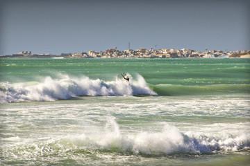 Kitesurfer auf Boa Vista