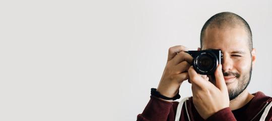 Fotograf im Studio