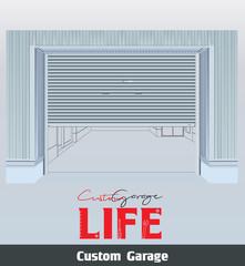eps Vector image:Custom garage Life 2