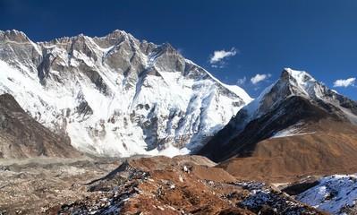 mount Lhotse south rock face