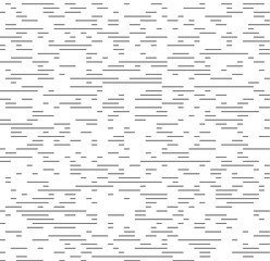 Seamless black - white geometric pattern