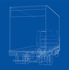 Concept mini truck sketch