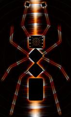 Micro Robotics - Ant Robot - Abstract Illustration