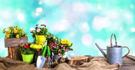 Gartenzeit Hintergrund