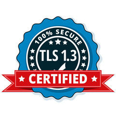 TLS 1.3 Certified label illustration