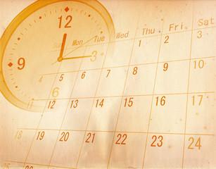 ビジネス カレンダー スケジュール 予定表 ルーペ