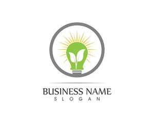 Bulp eco logo design concept