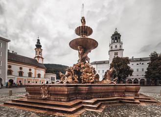 Residence fountain -Salzburg-Austria