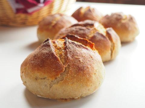 Petits pains au levain fait maison
