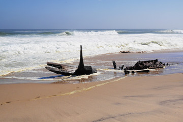 The Skeleton Coast Park, Namibia, Africa