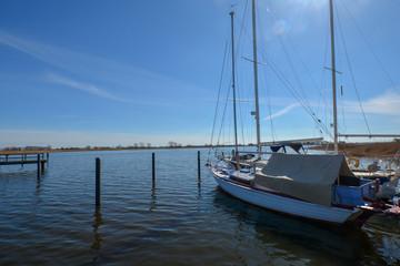 Frühling am Naturhafen Puddemin