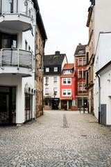 SAARBRUCKEN, GERMANY - April 1, 2018: Old Town Saarbrucken, Germany