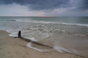 Strand an der Ostsee am Weststrand auf Fischland Darss Zingst