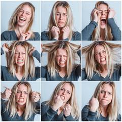 collage rabbia