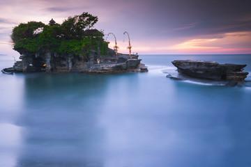 Pura Tanah Lot at sunset, Bali, Indonesia