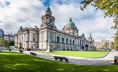 Papiers peints Europe du Nord Belfast City Hall in Northern Ireland, UK