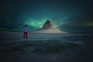 Noche magica en Islandia