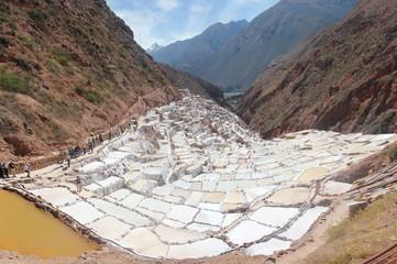 Salar de Maras en Cusco Perú