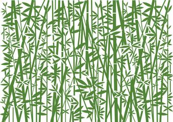 Bambus, dekoracyjne zielone tło. Stylizowana ilustracja zielony bambusowy dekoracyjny tło. Wektor dostępny.