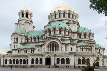 Antique cathedral of the orthodox church