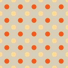 seamless Polka dot background. Bright polka dot texture.