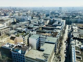Panorama Ansichten von Berlin am Tauentzien